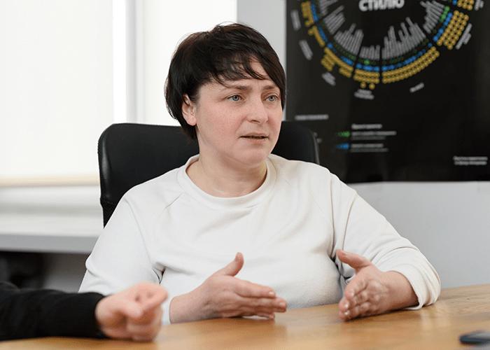 «Манині гостинці» інтерв'ю з Людмилою Столяр