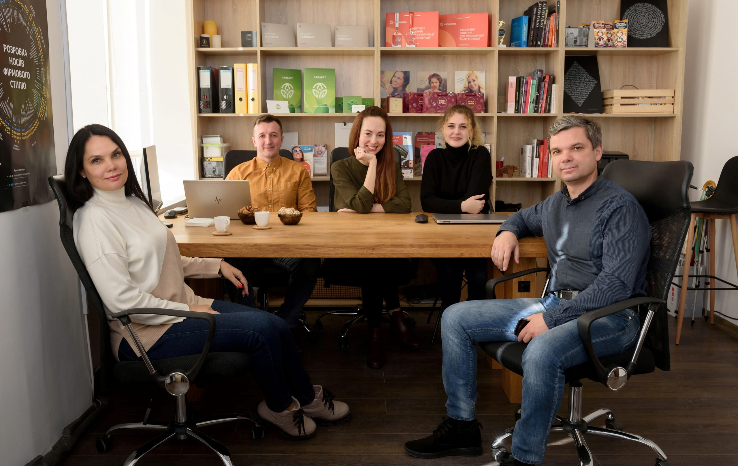 Спілкування із підприємцями Сергієм та Віталіною Дульгер