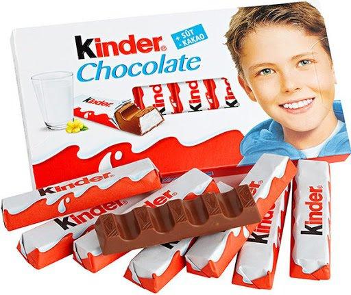 Шоколад Kinder від Ferrero