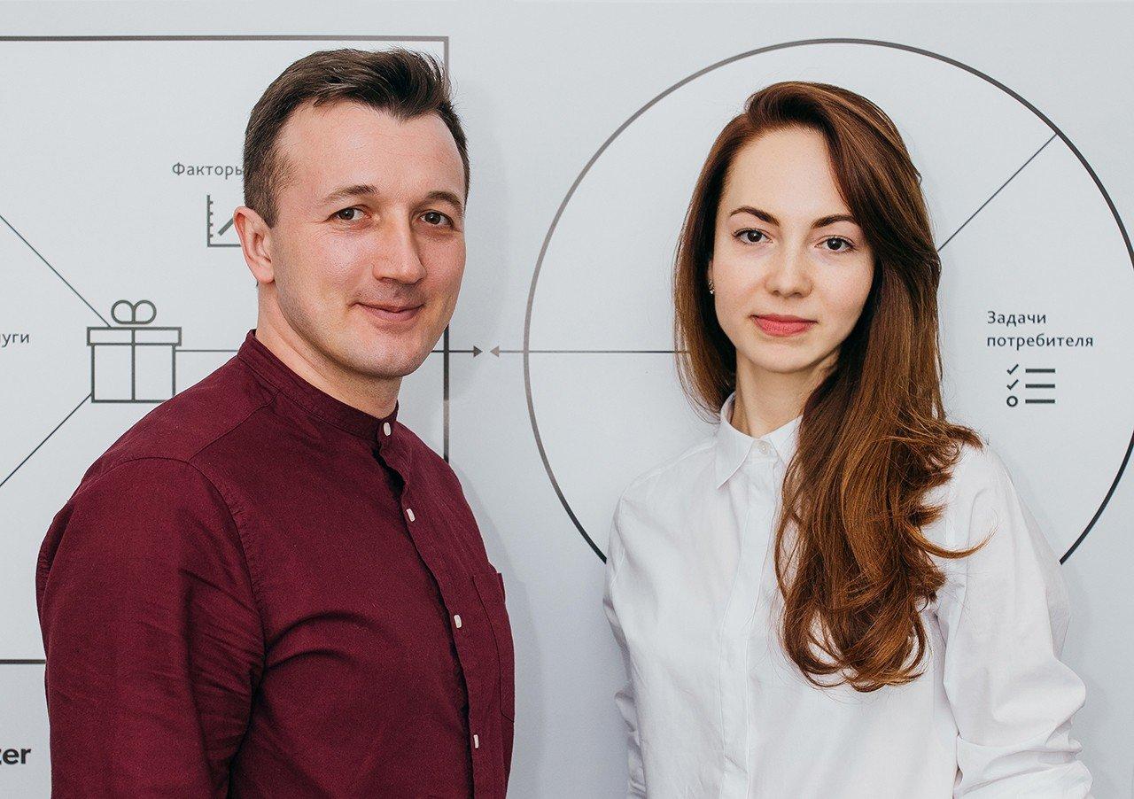 Власники брендингового агентства Wizart Ігор і Наталя Суворови