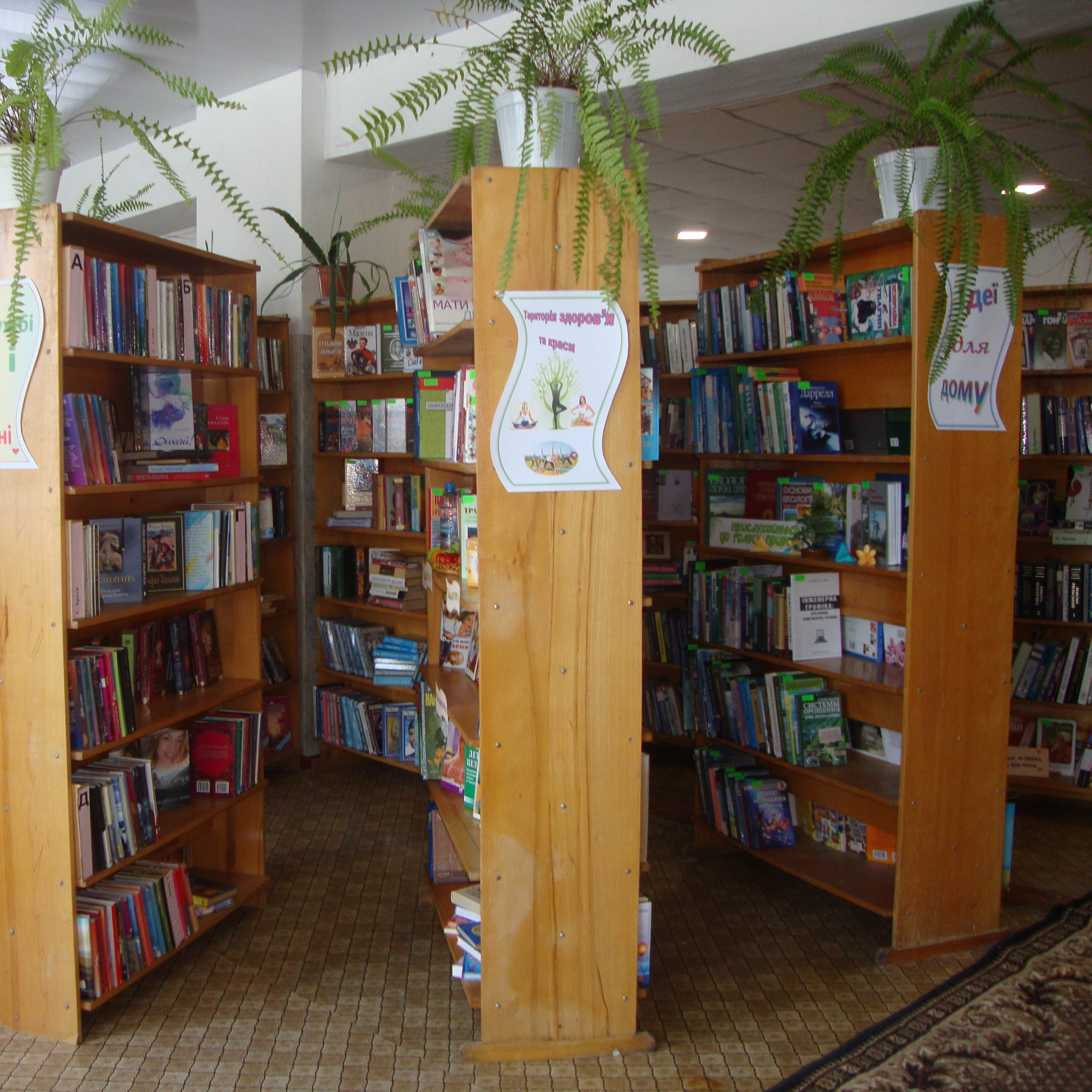 Бібліотека в Україні