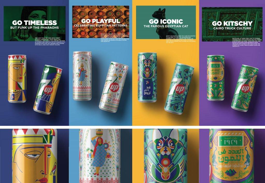 Лімітовані серії упаковок: 7Up