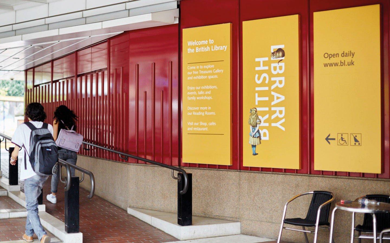 Зовнішня реклама British Library