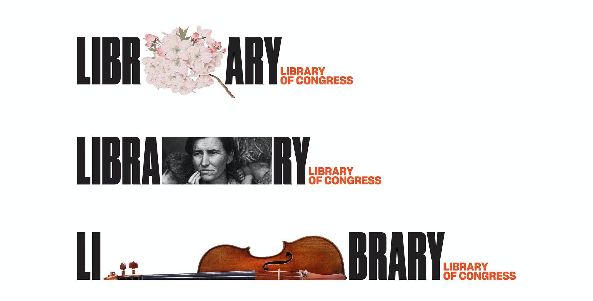 Логотип Library of Congress