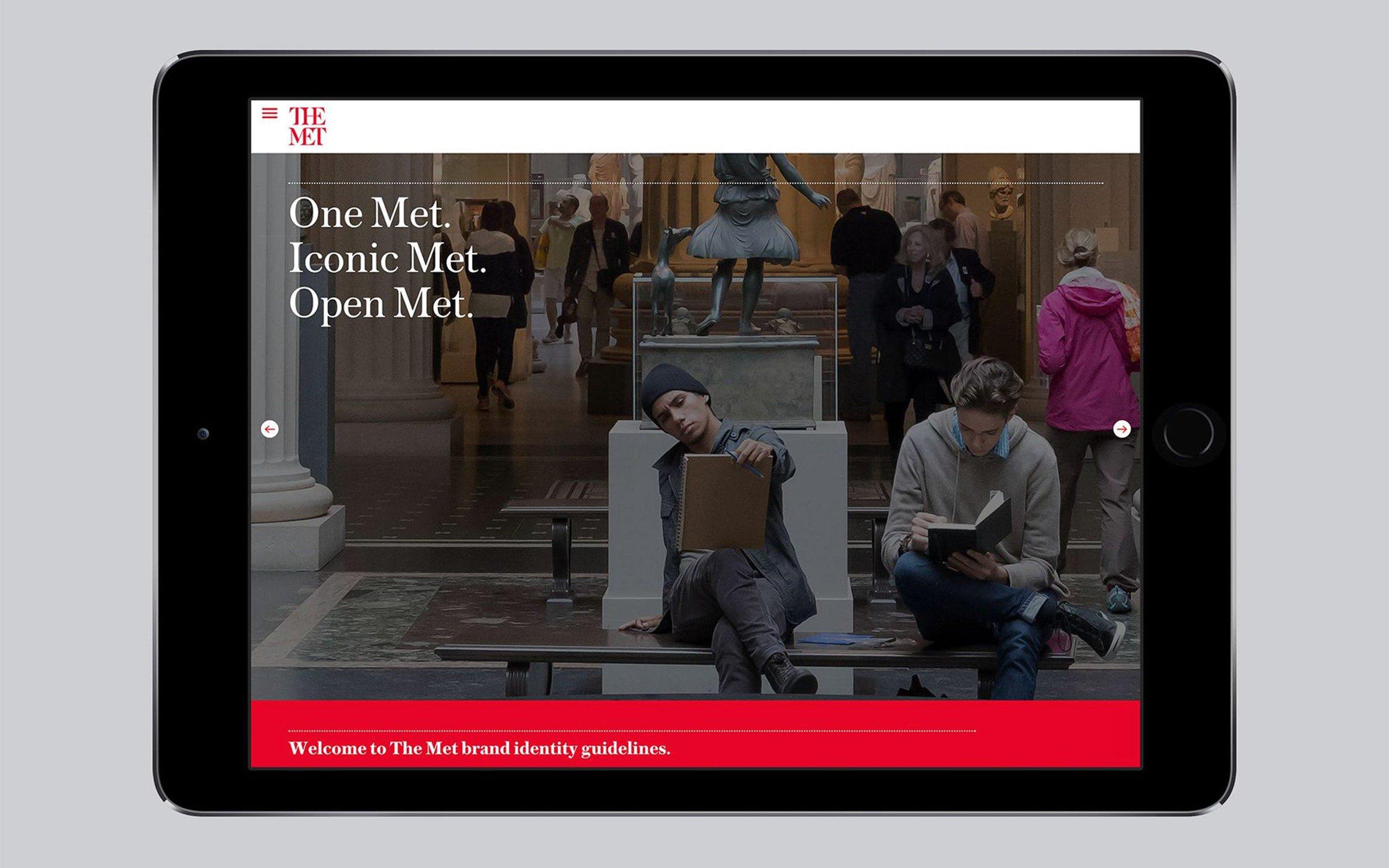 Сайт The Met