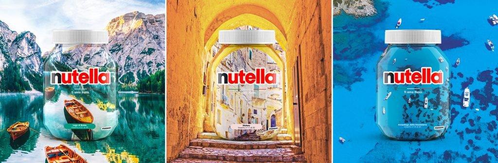 Лімітовані серії упаковок: Nutella